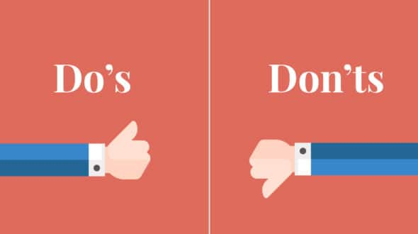 8 Simple Web Design Dos and Don'ts For a Responsive Website